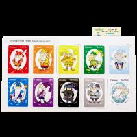 Набор карточек «Разноцветные гномы»
