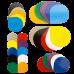 Разноцветные лепестки Магнит