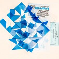 Прозрачный квадрат (синий)