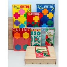 Общий комплект игр ко всем программам по сказкотерапии (3-7 лет; на одного ребенка)