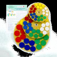 """Набор """"Разноцветные кружки 1"""""""