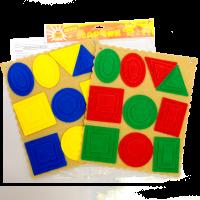 Эталонные фигуры Ларчик (ковролин, 4 цвета)